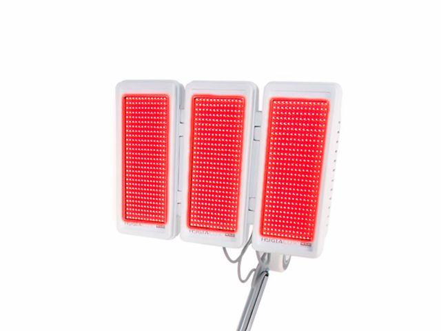 Painel Led KLD - 03 Abas Monocromático  - Vermelho 630nm - Para Hygialux
