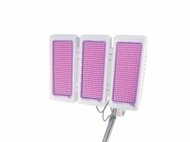 Painel Led KLD - 03 Abas Monocromático - Ultravioleta  390nm - Para Hygialux