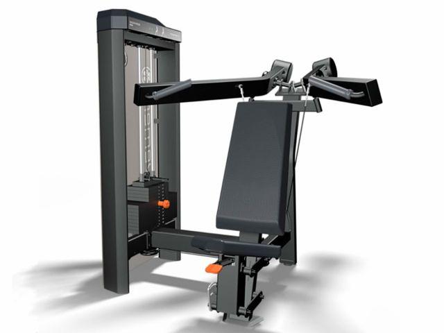 Estação de Musculação Idea+ Shoulder Ombro Com Carenagem Dupla e Contador - Movement