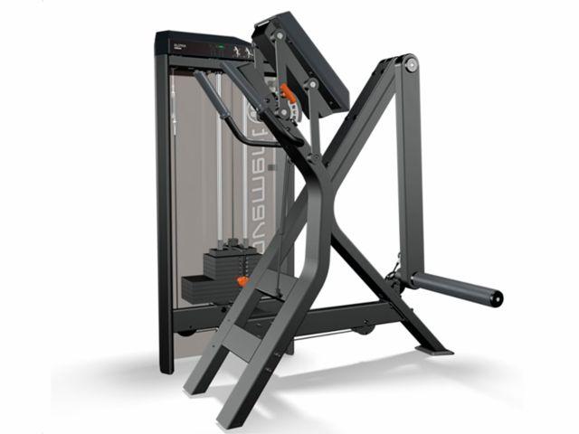 Estação de Musculação Idea+ Glúteo com Carenagem Dupla e Contador - Movement