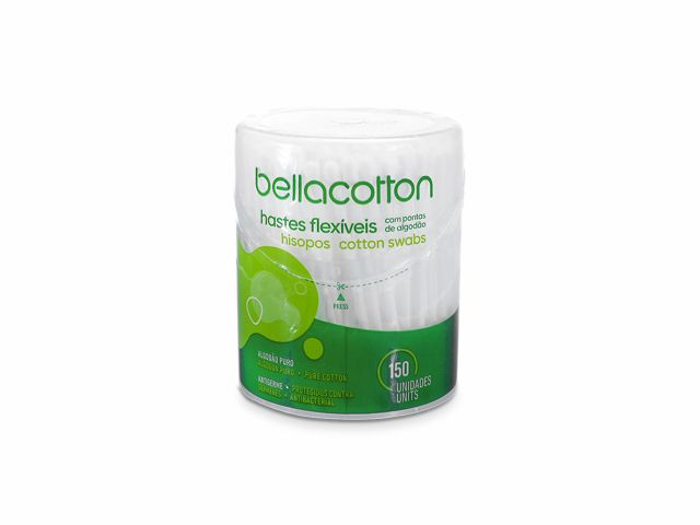 Hastes Flexíveis - Pote - 150un - bellacotton