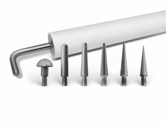Kit Completo de Ponteiras para Caneta New Skin - 07un - MM Optics