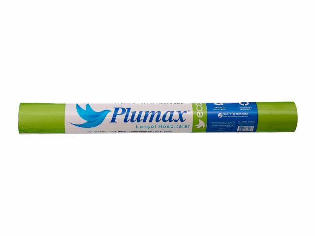 Lençol de Papel Descartável - Eco - 100% Fibras Naturais - 70cmx50m - Plumax