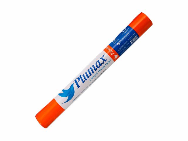 Lençol de Papel Descartável - 100% Celulose Virgem -  Picotado - 70cmx50m - Plumax