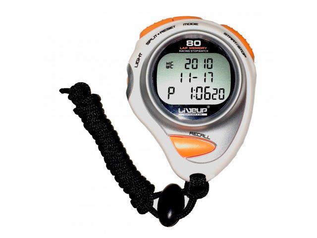 Cronômetro Digital Com Alarme 80 Lap - LiveUp