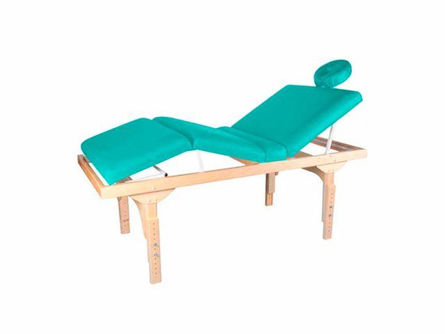 Maca De Massagem Fixa 3 Posições Fixa Com Altura Regulável E Orifício Belatrix - Legno