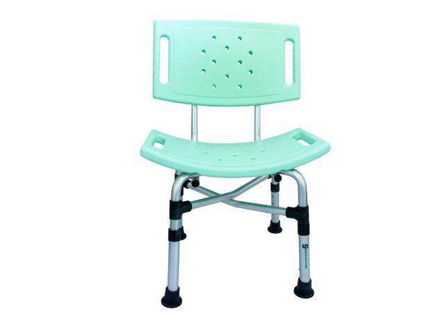 Cadeira de Banho - Com Encosto - 120kg - Sequencial