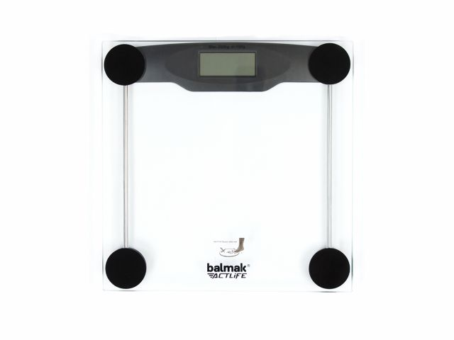 Balança Digital Slimbasic - 200Kg - Vidro - Balmak