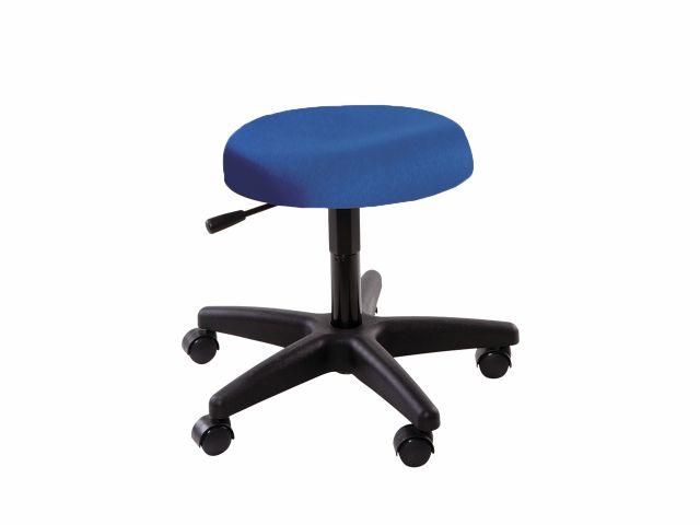 Cadeira Mocho - Sem Encosto - Base Preta - Arktus
