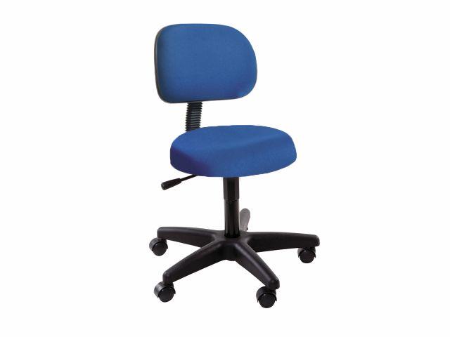 Cadeira Secretária - Com Encosto - Base Preta - Arktus