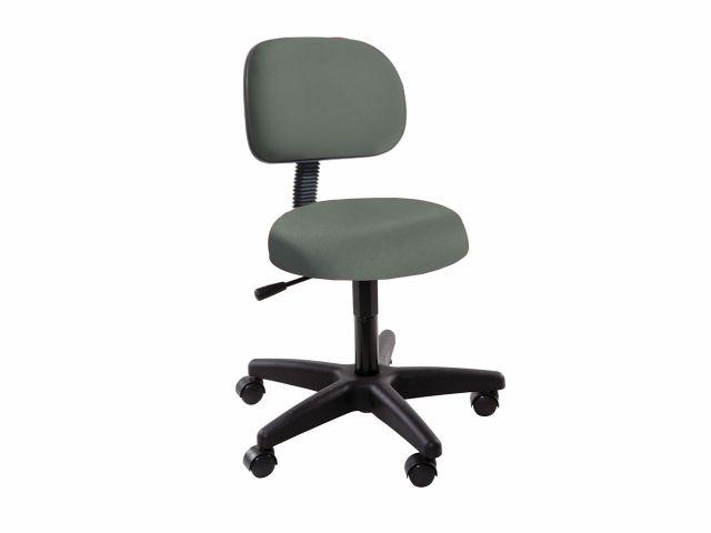 Cadeira Secretária  com Encosto - Base Preta - Arktus
