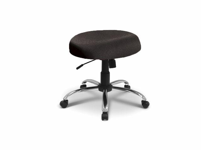 Cadeira Mocho sem Encosto - Base Cromada - Arktus