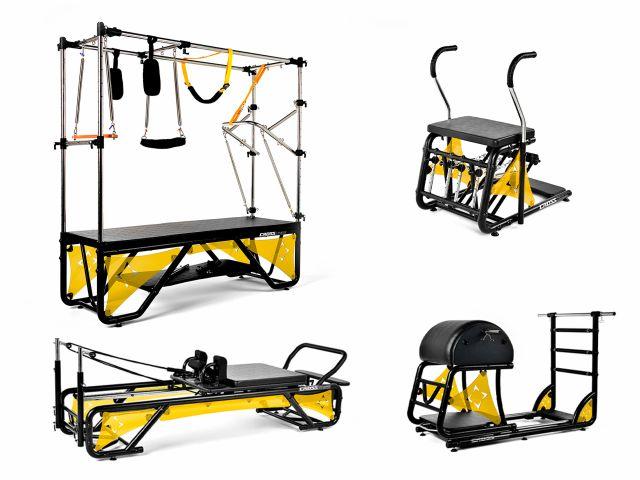 Kit Studio Cross Pilates Completo + Acrílico Amarelo Translúcido - Arktus