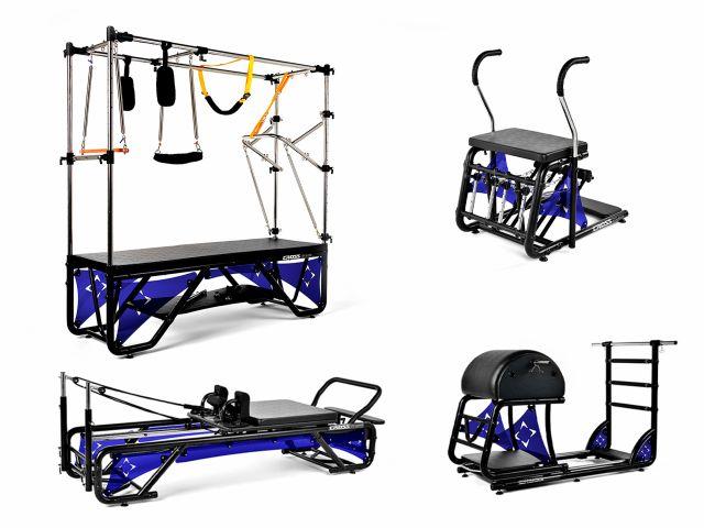 Kit Studio Cross Pilates Completo + Acrílico Azul Translúcido - Arktus