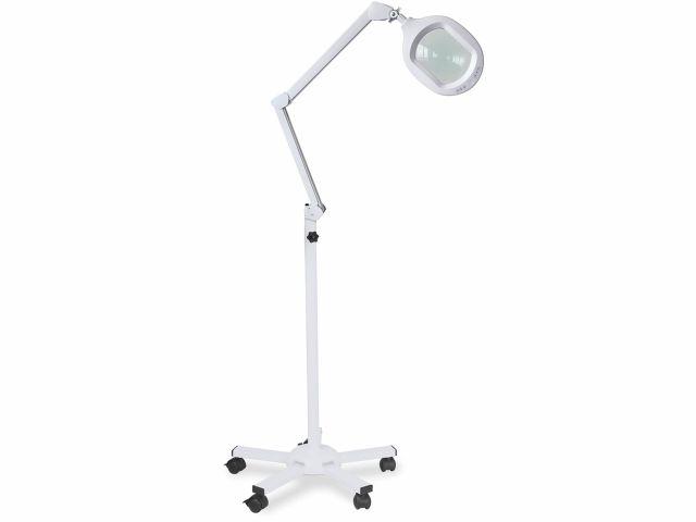 Lupa Articulada - LED Duo Light - Com Tripé - Estek