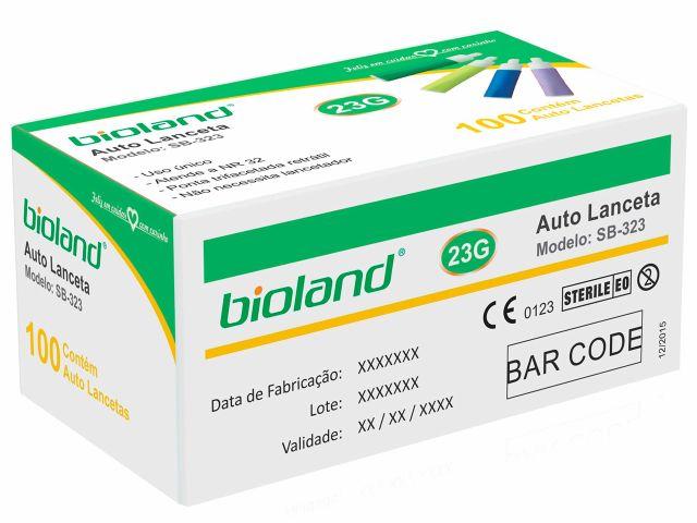 Auto Lanceta - 21G - Bioland