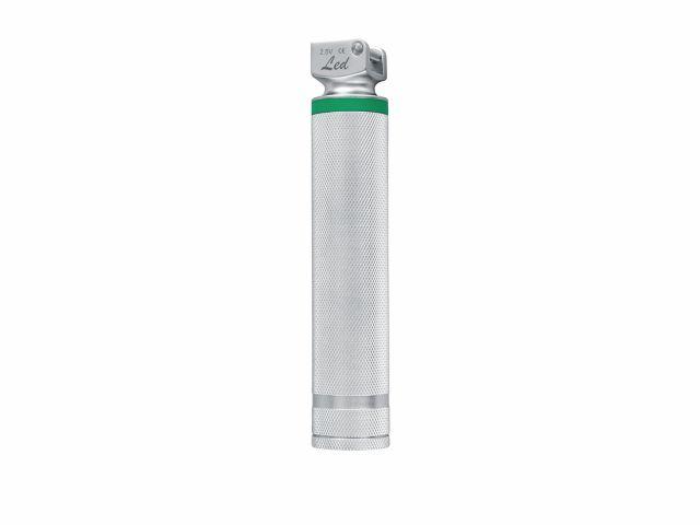 Cabo em Metal - MD LED 2W para Laringoscópio Fibra Óptica Médio Tipo AA - Macrosul