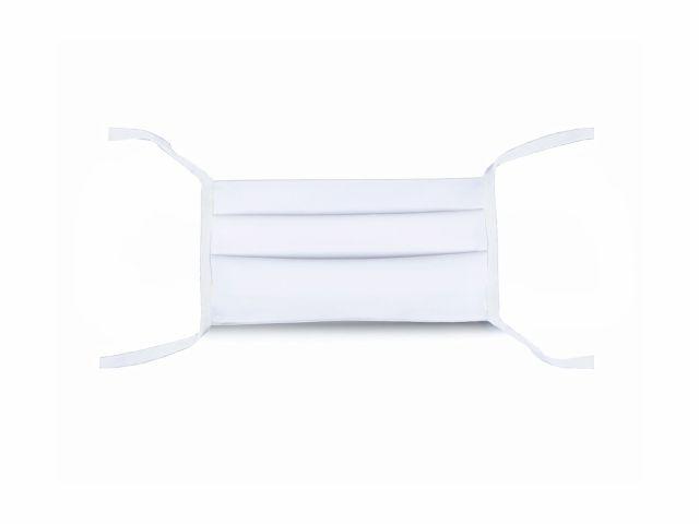 Máscara em Tecido Reutilizável - Com Tiras - 5un - Arktus