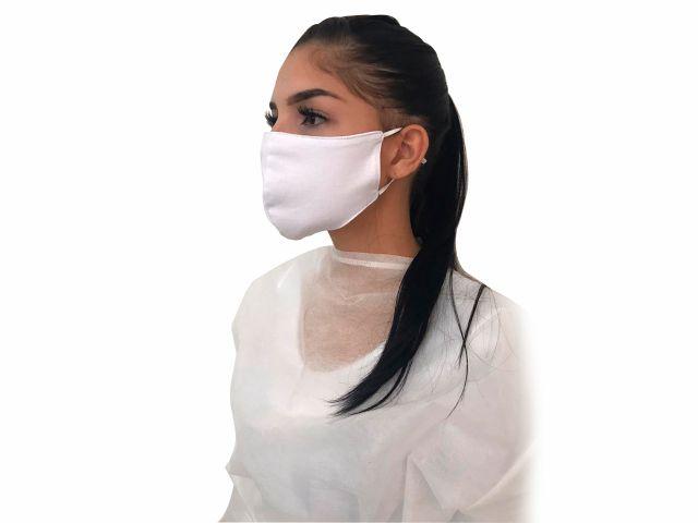 Máscara em Tecido Duplo Reutilizável - Bico de Pato - 100% Algodão - 5un - Arktus
