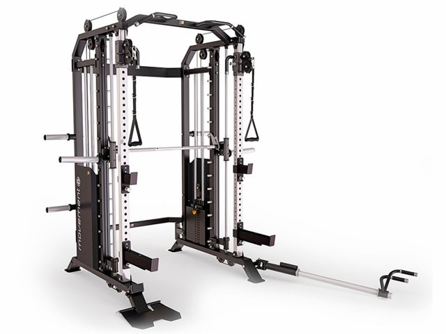 Estação de Musculação - Wire Cross Smith Rack - Movement