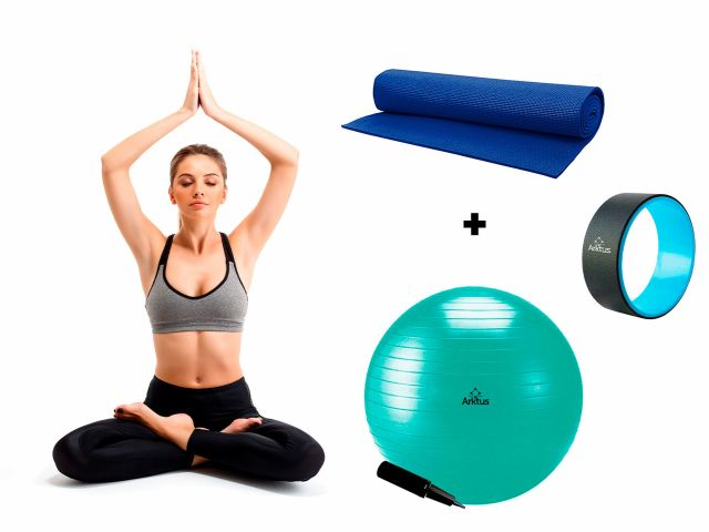 Kit Zen - para Pilates e Yoga - Arktus