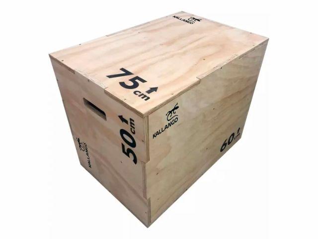 Caixa Para CrossFit - Plyo Box Naval  - Kallango