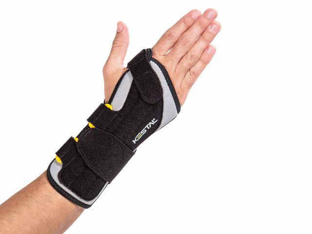 Munhequeira Sensi Wrist – com Tala – Cinza – Direita – Kestal